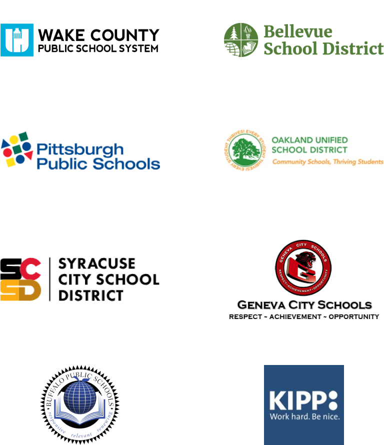 partner schools and districts