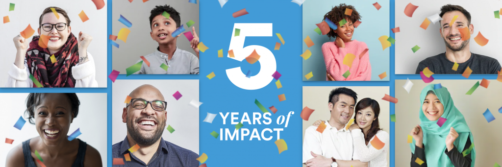 TalkingPoints 5 years of impact blog header