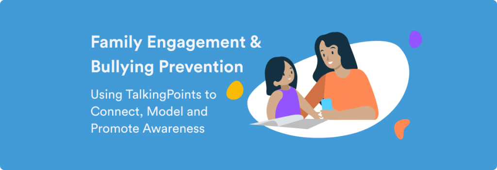 family engagement and bullying prevention blog header